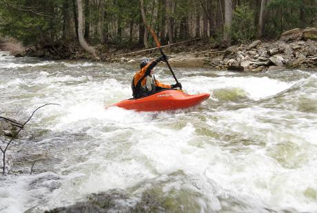 Kayaker-Grey Sauble Conservation Authority